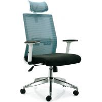 Buy cheap High End Ergonomic Mesh Office Desk Chair With Adjustable Arms Long Using Life from wholesalers
