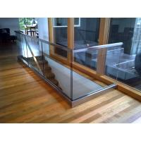 Buy cheap Aluminum Glass Channel Railings, Prices of Stainless Steel Terrace Railing product