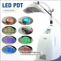 Buy cheap Professional PDT LED Light Therapy Machine , 7 Colors Facial Light Therapy Devices from wholesalers