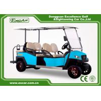 Buy cheap Electric Golf Carts With Italian Gearbox Sky Blue Easy Go Golf Cart from wholesalers