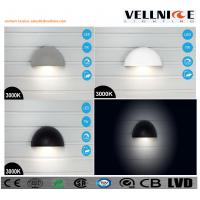 Buy cheap IP65 Outdoor LED Wall Lights half ball shaped can be charged pured aluminum body from wholesalers
