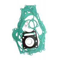 Buy cheap TVS KWG Overhaul Motorcycle Complete Gasket Kit Black / Green Color Solid Material from wholesalers