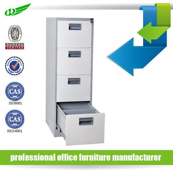 Quality 4 drawer Anti-tilt drawer filing cabinet for sale
