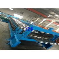 Buy cheap Agricultural Steel Rack Silo Forming Machine 55Kw Gear Drive With Coupling Joint from wholesalers