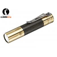 Buy cheap High End Personalized LED Flashlights , Mini Brass Unique Flashlights Gifts from wholesalers