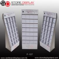 Buy cheap Floor display stand dividing wall with boxes from wholesalers