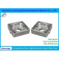 Buy cheap Black Powder Coated Steel 304 /306 Cnc Milling Products for Precision Equipment from wholesalers