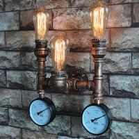 Buy cheap Creative Vintage Iedison Bulb Wall Lights Antique Gold Wall Lamp Bulb from wholesalers