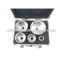 Buy cheap 5 PCS Diamond Drill Bit Silvery Golden Double Colors Kit Working Speed 10000 -14000 RMP from wholesalers