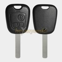 Buy cheap Non - Flip Remote Key Shell 2 Buttons For Peugeot  / Citroen VA2 Blade Blank Remote Cover product