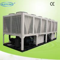 Two compressor Air Source Heat Pump Air Cooled Water Chiller Units R22