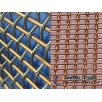 Buy cheap Copper Facade Mesh With Copper Rods and Copper Cable, Building Decoration from wholesalers