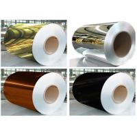 Buy cheap Thickness 0.14mm Mirror Finish Aluminium Sheet Width 1250mm For ACP Products from wholesalers