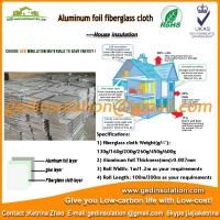 Buy cheap aluminum foil attic insulation material for construction from wholesalers