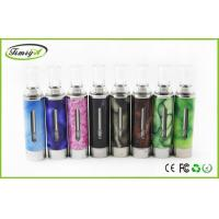 Buy cheap eGO T W EVOD 1.6ml E Cig Clearomizer atomizer high resistance With Round clear Drip tip from wholesalers