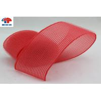 Buy cheap Red Nylon Heated Hook And Loop Hair Rollers / Hair Band For Women , Self Grip from wholesalers