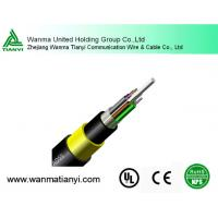 Buy cheap CATV cable -ADSS all dielectric non-metallic fiber optical cable product