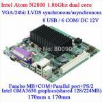 Buy cheap ITX-H25_28 - Intel Atom N2800 Fanless mini-itx motherboard from wholesalers