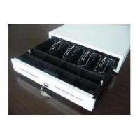 Buy cheap Lockable Electronic Cash Drawer Manual Metal Money Box With Slot 410M product