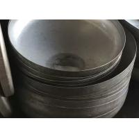 Buy cheap ASTM Head Forming Process  Q245R Conical Dished Head , Steel Cone Dished Head from wholesalers