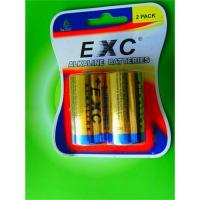 Buy cheap EXC alkaline battery LR14 size C from wholesalers