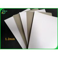 Buy cheap 800g Laminated One Side Duplex Board Grey Back For Making Photo Album from wholesalers