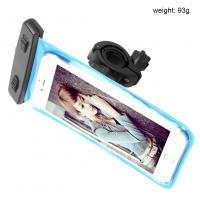 Buy cheap Iphone 7 Plus Waterproof Cell Phone Case Bag Pouch With 360 Rotating Handlebar Mount from wholesalers