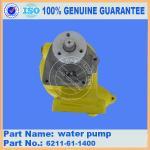 Buy cheap komatsu bulldozer water pump D85A-1A 6211-61-1400 from wholesalers