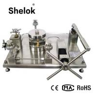 Buy cheap SS 0 ~ 60 Mpa 1/4NPT oil high pressure calibrator for aviation aerospace food use product