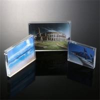Buy cheap Magnetic Clear Acrylic Photo/Picture Frame Perspex Picture Holder from wholesalers