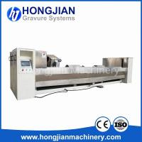 Buy cheap Gravure Cylinder Chrome Polishing Machine 3M Sand Belt Finishing Machine Chrome product