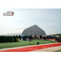 Buy cheap Special Curved Shape Sport Event Tent for Outdoor Football Court with Strong Frame from wholesalers