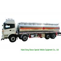Buy cheap FOTON 8x2 Aluminium Alloy Fuel Oil Delivery Truck For Diesel Transportation 28CBM from wholesalers