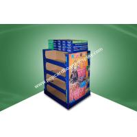 Buy cheap Four Shelf Double - Face - Show Cardboard Floor Display Stands For Lady Bag With UV Coating from wholesalers