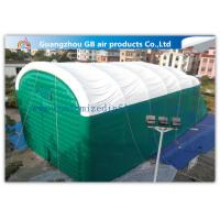 Buy cheap 0.9mm Pvc Tarpaulin Green Inflatable Air Tent For Family Outdoor Events product