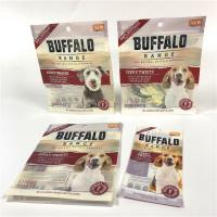 Buy cheap Strong Sealing Smell Proof Pet Food Bag UV Logo Printed With Easy Opening Tear Notches from wholesalers