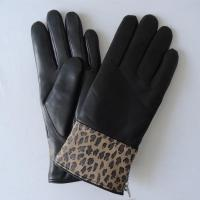 Buy cheap soft fashion classical genuine sheepskin lamb skin leather women gloves from wholesalers