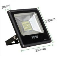 Buy cheap 30W led reflector led lamp dimmable flood lighting black grey aluminum housing single 110V from wholesalers