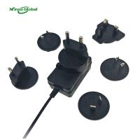 Buy cheap Interchangeable plugs 4S Li-ion battery charger 16.8V 1A lithium battery charger from wholesalers