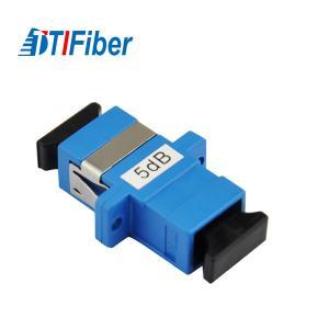 Buy cheap Good Stability Fiber Optic Attenuator Singlemode Simplex SC SC Fixed 1db/5dB product