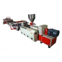 Buy cheap 3 - 25mm Thickness Foam Manufacturing Machine , 110kw Power PVC Making Machine from wholesalers