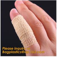 Buy cheap Fitness Custom made Cotton medical plaster tape sport bandages roll athletic tape,Flexible Bandage Self Adherent bandage from wholesalers