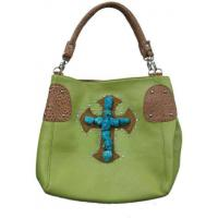 Buy cheap low price pu leather turquoise bags cowgirl style purse from wholesalers