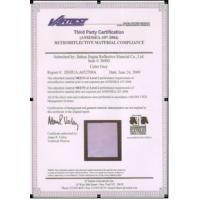 Buy cheap Certificate from wholesalers
