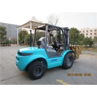 Buy cheap 3000kg Rough Terrain Lift Truck , Off Road Forklift With 42KW Diesel Engine from wholesalers