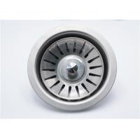Buy cheap Circel Stlye Kitchen Sink Strainer Set OD 107 Mm  0.4 - 0.6mm Thickness from wholesalers