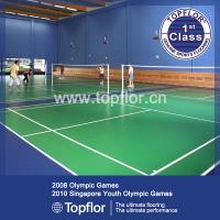 Buy cheap Badminton Sports Floor/PVC Roll Plastic Sports Flooirng from wholesalers