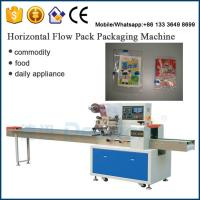 Buy cheap Dession DS-250B automatic card packaging machine / Rotary pillow bag packaging machine from wholesalers