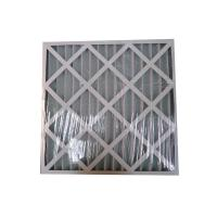 Buy cheap Commercial Residential Pleated Panel Media Air Filter Air Conditioner Hepa Filter from wholesalers