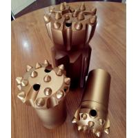 Buy cheap Spherical / Ballistic Button High Speed Drill Bits Alloy Steel Meterial Dia 64 - 89mm from wholesalers